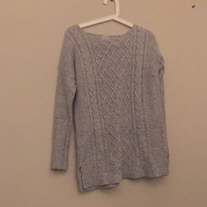 Long Grey Sweater